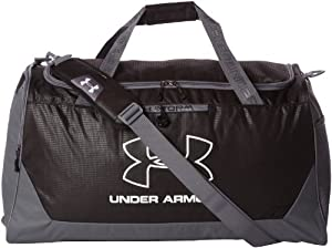 Under Armour Hustle Duffle Bag Large black/grey Size:68.04 x 35.28 x 30.24 cm