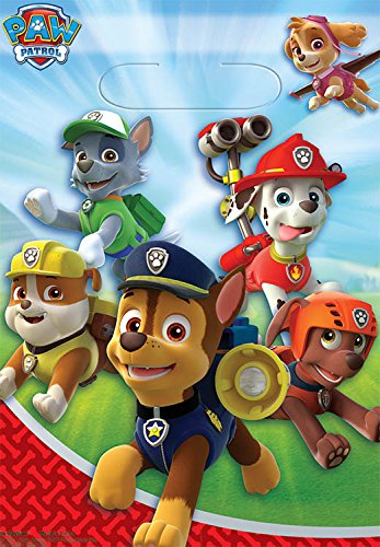 Folded Loot Bag Paw Patrol