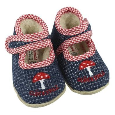 special for shoe quality products best shoes Adelheid Babyschuhe GLÜCKSPILZ minikaro marine - Baby Schuhe