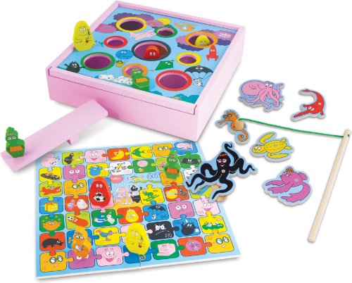 Vilac Barbapapa Games Set (4-Piece)
