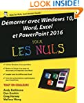 D�marrer avec Windows 10, Word, Excel...