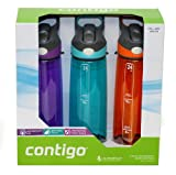Contigo 3 Pack Autospout Water Bottles (24 oz each)