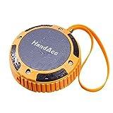 Wasserdichter Bluetooth 4.0 Lautsprecher - Wireless Tragbarer Lautsprecherbox Stereo Speaker mit IP54 Wasserdicht Standard für Outdoor