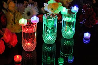 PK Green LED Unterwasserleuchte mit Farbwechsel, 10er Set