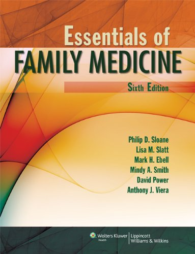 Essentials of Family Medicine (Sloane, Essentials of Family Medicine)
