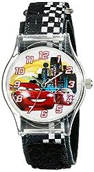 Disney Kids W001970 Cars Analog Black Watch