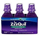 ZzzQuil Nighttime Sleep-Aid - Berry Flavor - 12 fl. oz - 3 pk.
