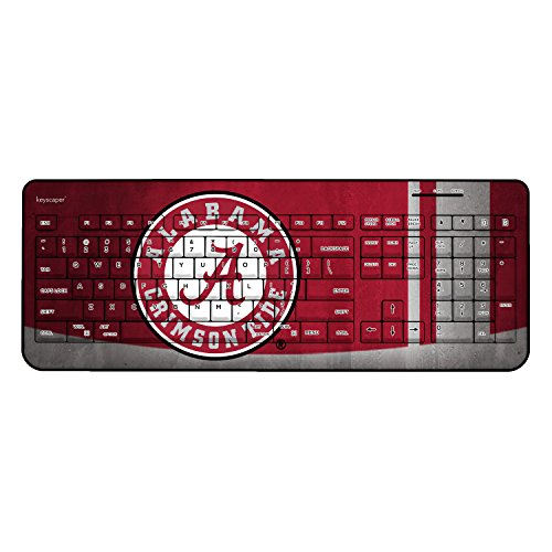 Love this Alabama Crimson Tide Wireless USB Keyboard - looks great and works great