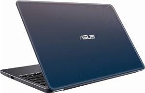 "Asus Vivobook E203MA Thin and Lightweight 11.6"" HD Laptop, Intel Celeron N4000 Processor, 2GB RAM, 32GB eMMC Storage, 802.11AC Wi-Fi, HDMI, USB-C, Win 10 (Tamaño: 11-11.99 inches)"