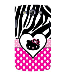 Cute Girly Love 3D Hard Polycarbonate Designer Back Case Cover for Samsung Galaxy S3 Neo :: Samsung Galaxy S3 Neo i9300i
