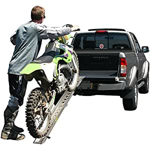 "76"" Single Aluminum Off-Road Motocross Loading Ramp"