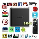 T95x Internet-TV-Box Amlogic S905x Android 6.0 Wifi 1080p...