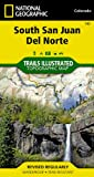 img - for South San Juan, Del Norte (National Geographic: Trails Illustrated Map #142) (Ti - Other Rec. Areas) book / textbook / text book