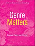 img - for Genre Matters: Essays in Theory and Criticism book / textbook / text book