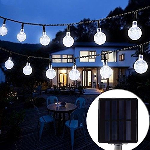 Outdoor Solar String Lights (20 ft)