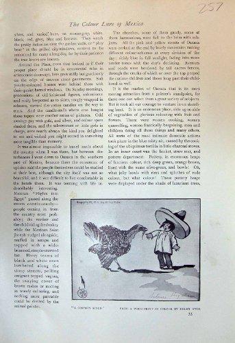 Comune Rimproveri la Stampa 1913 dell'Oggetto D'antiquariato della Scuola di Arte di Gabor dei Ballerini della Turchia Helen Hyde