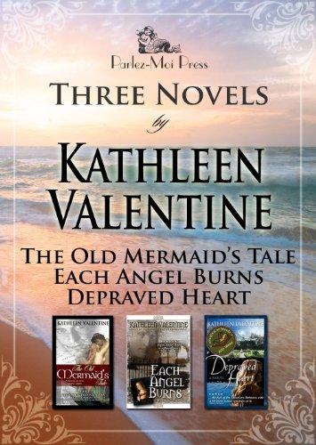 Three Novels: The Old Mermaid's Tale, Each Angel Burns, Depraved Heart PDF