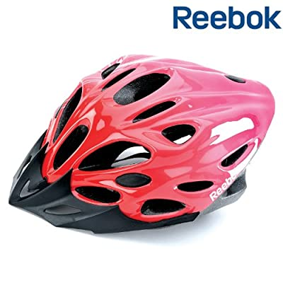 Reebok Womens Bike Helmet Pink - 58-62cm 16 Air Vents from RFE International