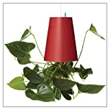 Sky Planter Inverted Flower Planter by Boskke, style = Red/Medium