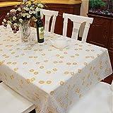 "Spritech(TM) 53.9"" * 78.7"" Fashions Rectangular Waterproof PVC Plastic Table Cloth Table Cover"