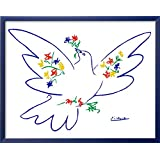 Art.com Dove of Peace by Pablo Picasso Framed Art Print, 24