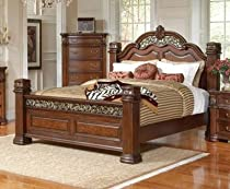 Hot Sale 201821KE Coaster DuBarry Panel Bed in Mahogany Standard King