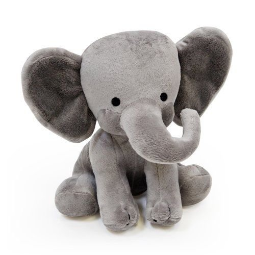 [Bedtime Originals Plush Toy, Humphrey Elephant] (Jumbo White Bunny Kit)