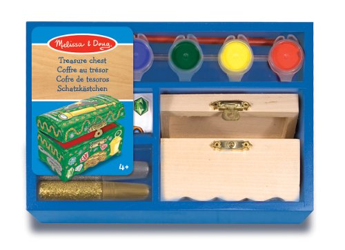 Melissa & Doug Decorate-Your-Own Treasure Chest - 1