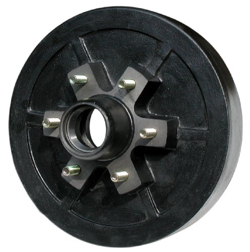 TowZone 12-Inch Brake Drum Hub for Trailers