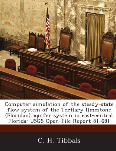 Computer Simulation of the Steady-State Flow System of the Tertiary Limestone (Floridan) Aquifer System in East-Central Florida: Usgs Open-File Report