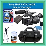 Sony HXR-NX70U NXCAM Compact Camcorder with 96GB Flash Memory Starter Package Includes NPFV70 Battery, 16GB SDHC Memory Card + More!!!!