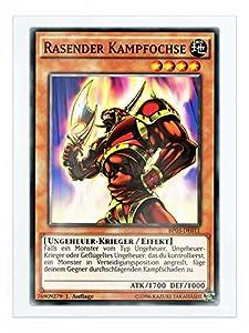 BP03-DE011 Rasender Kampfochse Shatterfoil 1. Auflage + Free Original Gwindi Card-Sleeve