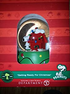 Department 56 Getting Ready For Christmas (Snow Globe)