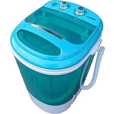 Syntrox Germany Machine à laver avec essoreuse, petit format, pour camping A + 3,8kg