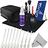 Altura Photo Complete Camera Cleaning Kit for DSLR Lenses, Sensors, and LCD Screens (Canon, Nikon, Pentax, Sony)