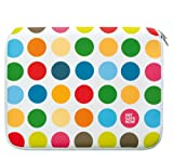 Pat Says Now Polka Dots Notebooktasche bis 43,18 cm (17 Zoll) wei�