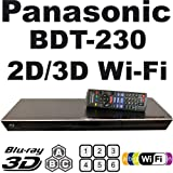 PANASONIC BDT230 Smart Network All Region DVD Blu ray Player 2D/3D - 100~240V 50/60Hz (6Feet HDMI Cable)