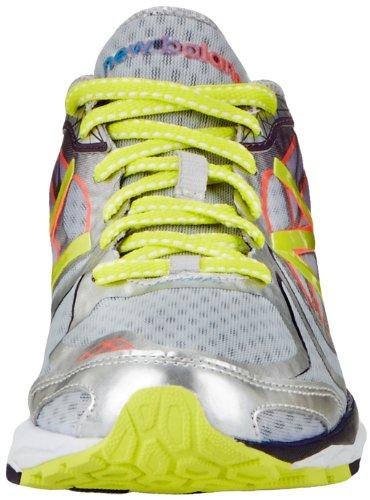 888098226782 - New Balance Women's W1080 Cushion Running Shoe,Silver/Purple,12 D US carousel main 3