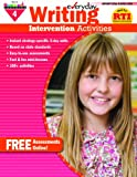 Everyday Intervention Activities for Writing Grade 4 Book