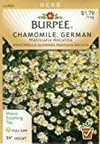 Burpee 66019 Herb Chamomile, German Seed Packet