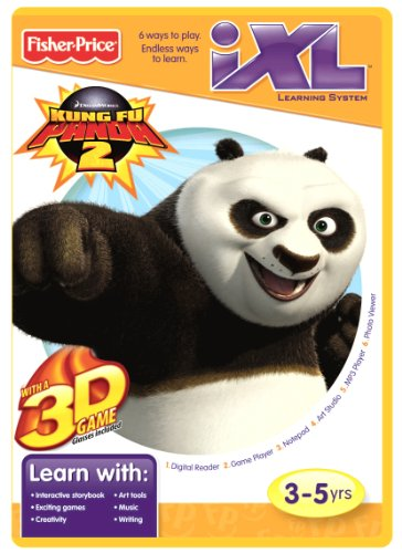 Fisher-Price iXL Learning System Software Kung Fu Panda 3D - 1