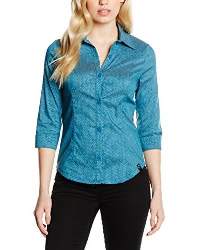 Zergatik Camicia Donna Febo [Blu]
