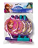 American Greetings Frozen Party Blowers (8-Pack), Party Supplies