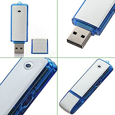 Kissmart® 2 in 1 Portable 8GB USB 2.0 Flash Drive + Digital Voice Recorder Dictaphone Rechargeable Recording...