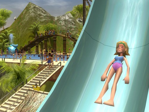 Online Games, Video Games, Game Downloads, Core Games, Simulation, Download, PC Games, Rollercoaster Tycoon, Rollercoaster Tycoon 3: Platinum