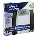Weight Watchers Scale, Glass, Body Analysis 1 scale