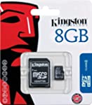 Kingston 8 GB microSDHC Class 4 Flash...