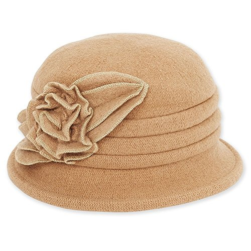 ad502-softwool-cloche-with-flower-trim-brown