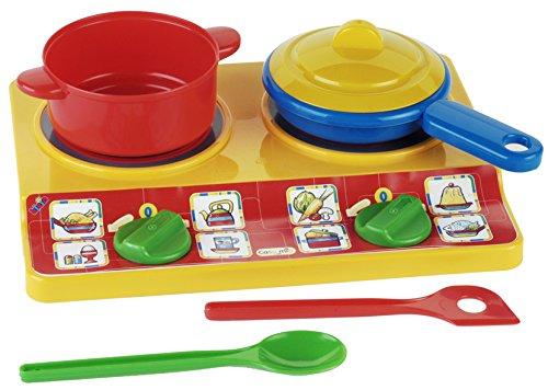 klein-9170-jeu-dimitation-plaques-de-cuisson-emmas-kitchen-avec-accessoires