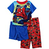 AME Sleepwear Boys 2-7 Spiderman Set